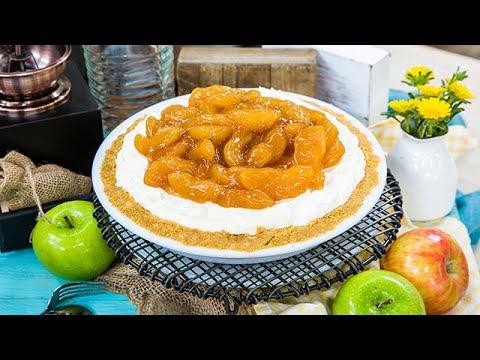 Rushion McDonald's No Bake Apple Caramel Cheesecake - Home & Family