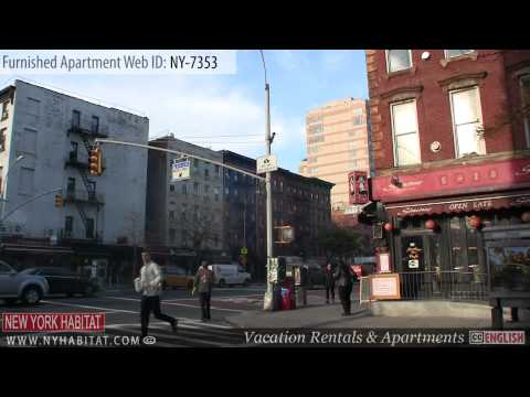 New York City - Video tour of a furnished apartment on East 13th Street (East Village - Manhattan)