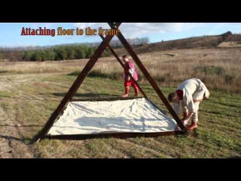 Viking Canvas Tent 10'x10' by ArmStreet