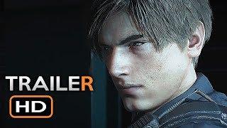 Resident Evil 2 Remake Trailer (E3 2018) Zombie Survival Horror Video Game HD