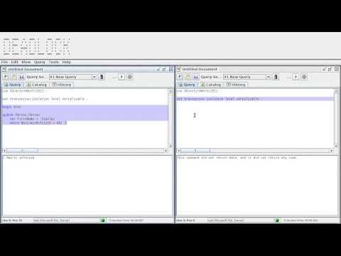 DB & SQL – Abschnitt 12.6: Deadlock