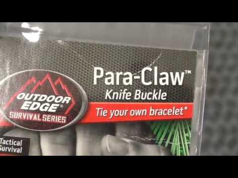 Outdoor Edge Para-Claw Paracord Survival Bracelet