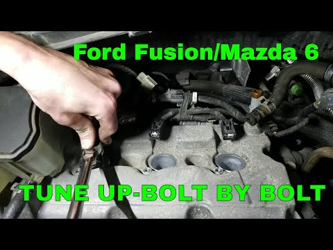 How To Change Spark Plugs in a V6 Ford Fusion