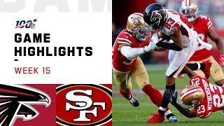 Falcons vs. 49ers Week 15 Highlights | NFL 2019