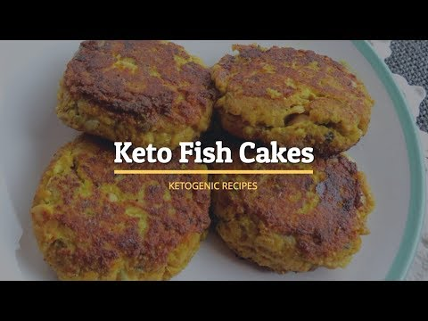 Keto Fish Cakes | Quickest and Easiest | Ketogenic Recipes