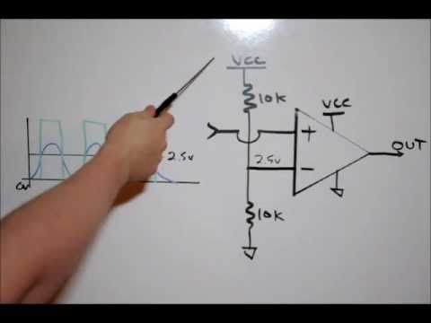Electronic Tutorial: OP-AMP Comparators & Resistor Dividers   Theory & Lab