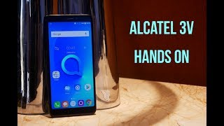 Alcatel 3V Hands On