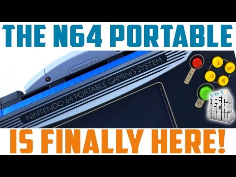 N64 Portable: It's Alive!