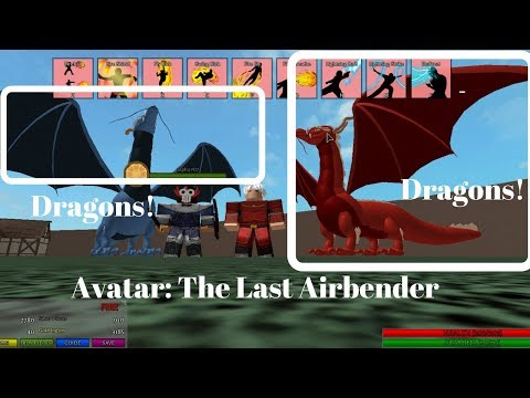 I GOT A Dragon, Avatar: The Last Airbender, Roblox, How to get!