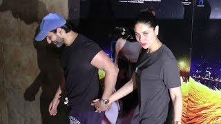 Saif Ali Khan & Kareena Kapoor At Kaalakaandi Movie Special Screening