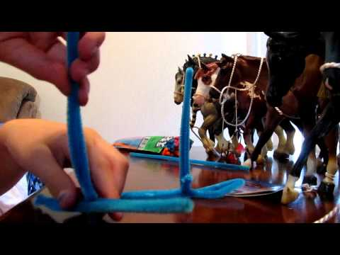How to make horse jumps for Breyer horses