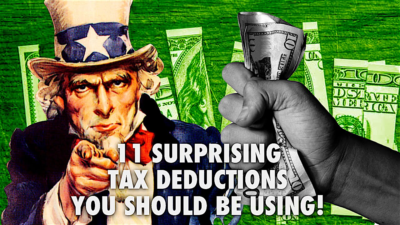 11 Surprising Tax Deductions You Should Be Using!