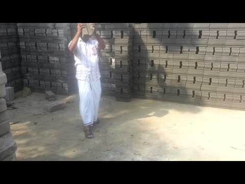 Fly ash based interlocking bricks irumbuzhi