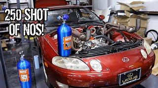 Installing NOS And EFI on my V8 Swapped Lexus SC300