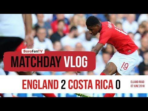 THE NEW BOROFANTV VLOG EPISODE 1 - England 2 Costa Rica 0