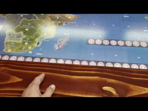 Axis and Allies Game table