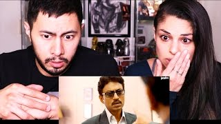 TALVAR   Irfan Khan   Trailer Reaction w/ Tania Verafield!