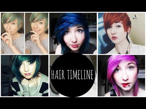 Hair Timeline!
