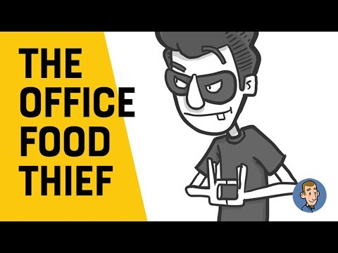 I Was the Office Food Thief? (Animation featuring Natimation)