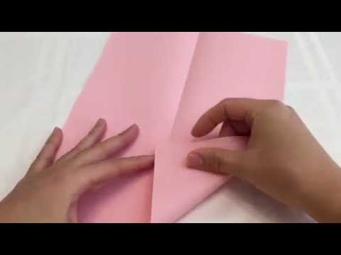 Easy to make Origami Frog - JUMPS!!!