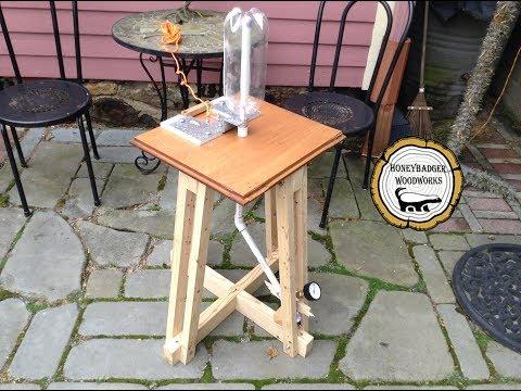 Woodworking:  DIY Bottle Rocket Launcher // How-To Part 1