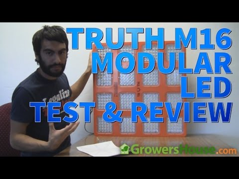 M16 LED Grow Light by Truth LED Lighting - Review and Test