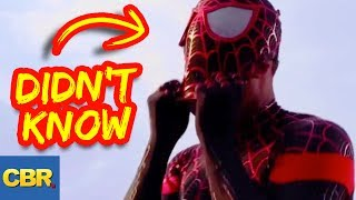 10 Spiderman Secrets You Didn