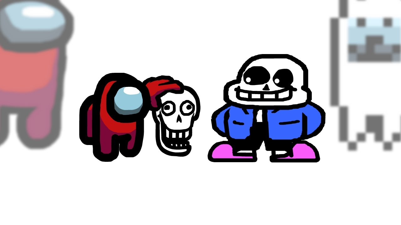 Mini Crewmate Kills UNDERTALE Characters | Among Us