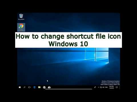 How to change shortcut file icon Windows 10