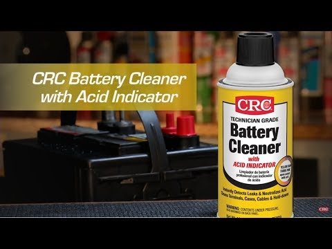 CRC Battery Cleaner and Battery Terminal Protector Instructional Video