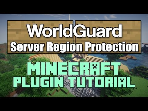 WorldGuard 1.12 Plugin Tutorial Minecraft
