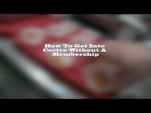 How To Get Into Costco Without Membership