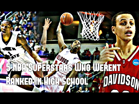 5 NBA Superstars Who Weren't Nationally Ranked in High School