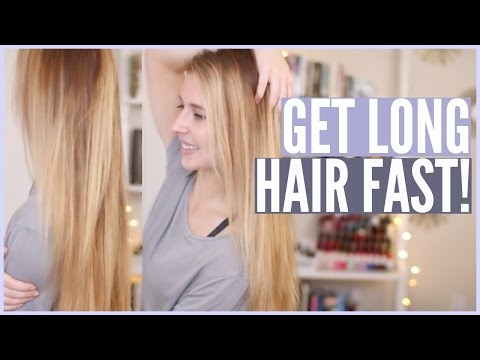 Get LONG Hair SUPER Fast (Natural Home Remedy) | Courtney Lundquist