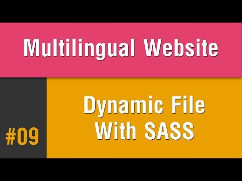 Multilingual Best Practice in Arabic #09 - Create Dynamic RTL File With Sass