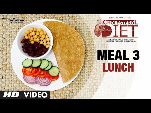 Meal 03 - Lunch | CHOLESTEROL DIET  | Designed & Created by Guru Mann