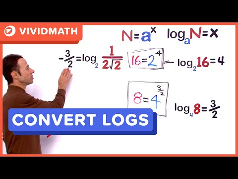 02 Converting From Logarithmic Form To Exponent Form 01 - VividMaths.com