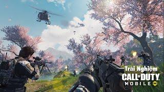 Trải Nghiệm Call of Duty Mobile - Game Sinh Tồn Mới Lạ || Bánh Cuốn Thực Sự 😍