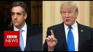 How the jailing of Cohen affects Trump - BBC News