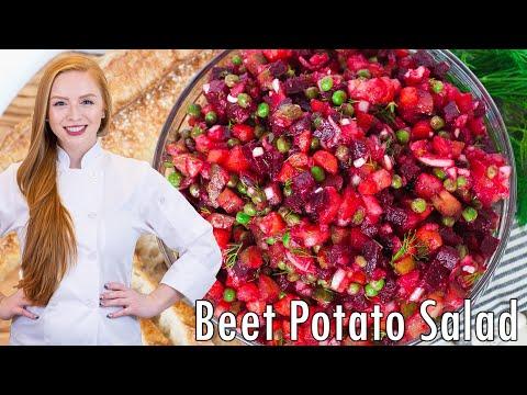 Vinaigrette Beet Potato Salad