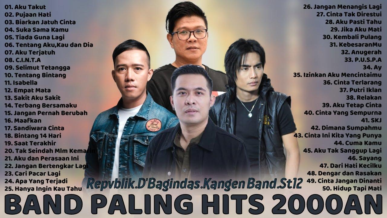 Download 50 Lagu Terbaik Dari Repvblik, Kangen Band, ST12, D'Bagindas - Lagu Tahun 2000an Paling Hits MP3 Gratis