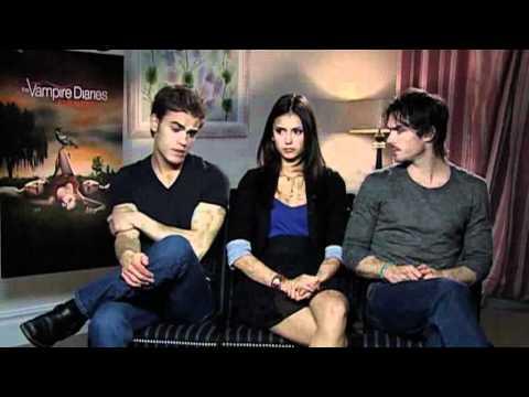 Vampire Diaries - interviews des acteurs pour la sortie DVD