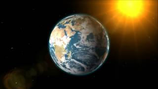 Earth and Sun and Moon 3D