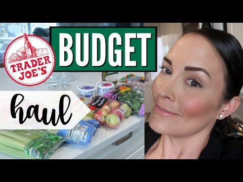 💥NEW💥TRADER JOES GROCERY HAUL ● WEEKLY GROCERY HAUL ● WEEKLY $25 SHOPPING ON A BUDGET at TJs