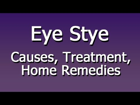 Eye Stye - Causes, Treatment, Home Remedies