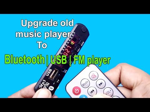 How to Convert Old Music Player to Bluetooth speaker