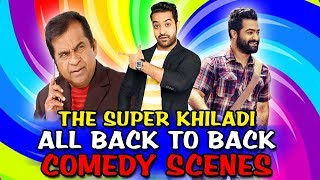 The Super Khiladi All Back To Back Comedy Scenes   South Indian Hindi Dubbed Best Comedy Scenes