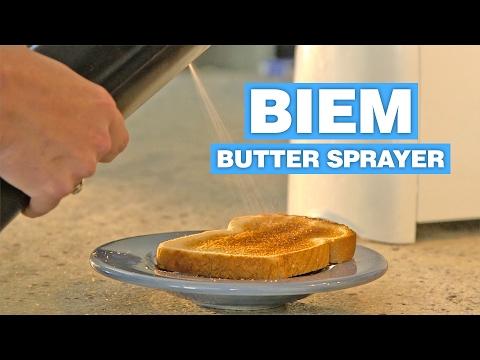 Biem Butter Sprayer Makes Any Stick Of Butter Sprayable