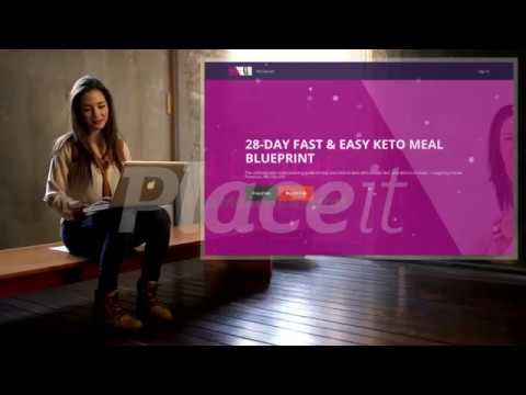 28 Day Fast & Easy Keto Meal Blueprint from Keto Carole