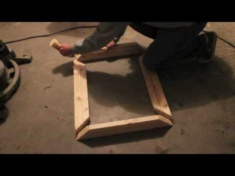 How to make a small wooden picture frame.